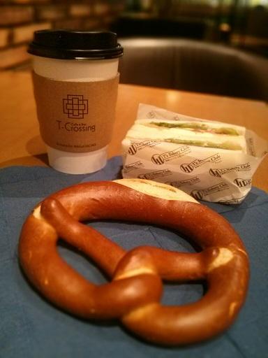 『Cafe&Bar T-Crossing(ティークロッシング)』~東京メトロエチカフィット永田町★☆★3つ星カフェ