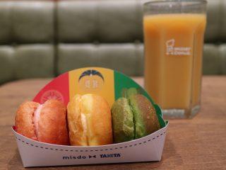 ミスド新メニュー『ベジポップ』タニタとコラボの3個でわずか195kcalのヘルシー野菜ドーナツとスムージーも登場!気になるお味は?