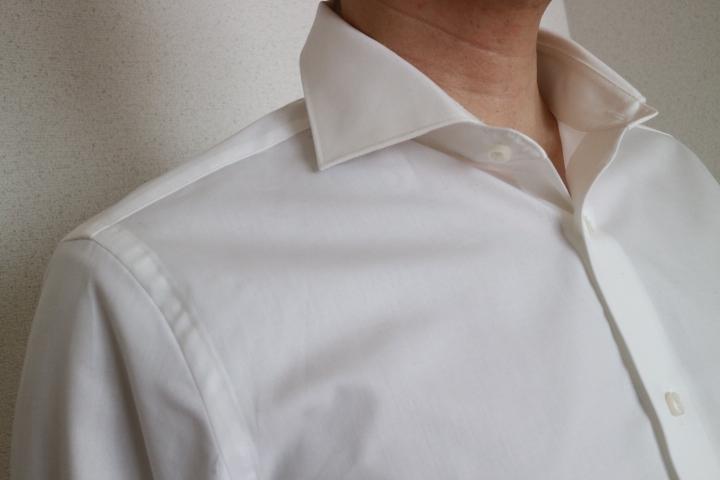 洗い上がりのMUJIのシャツたちMUJIシャツの多さに朝から笑
