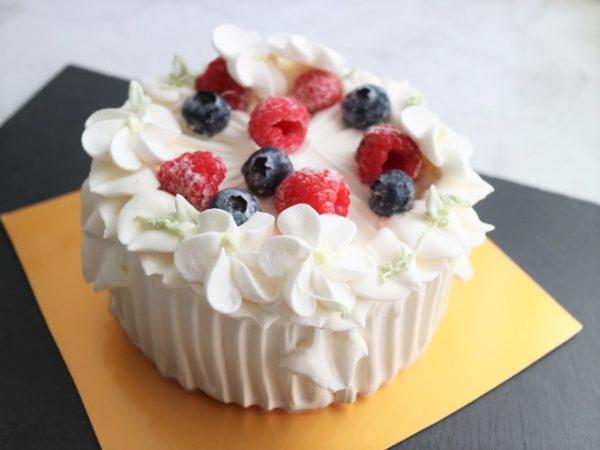 アニバーサリー グレースホワイト ショートケーキ