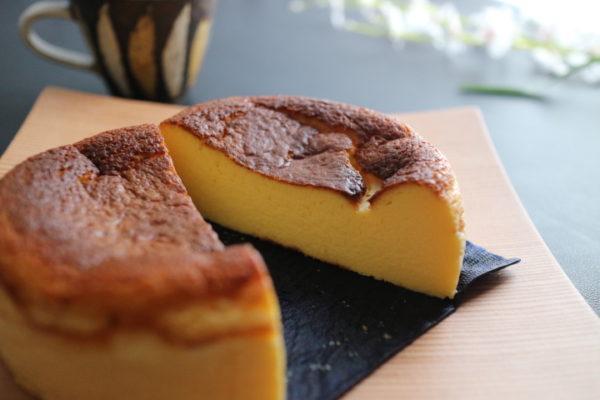 椿屋珈琲『バスクチーズケーキ』