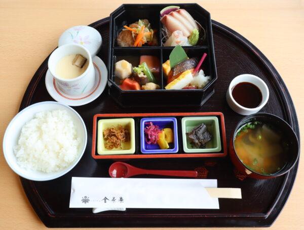 加賀料理 金沢迎賓館『金茶寮』