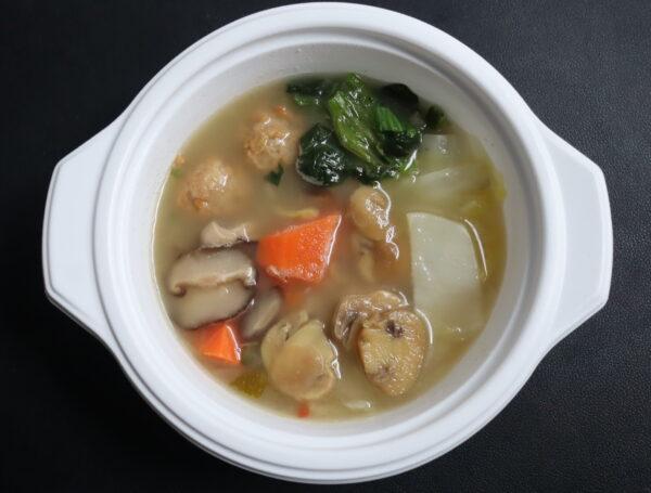 ウェルネスダイニング 野菜を楽しむスープ食